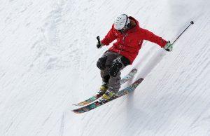 Downhll Skier